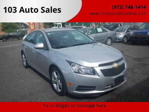 2014 Chevrolet Cruze for sale at 103 Auto Sales in Bloomfield NJ