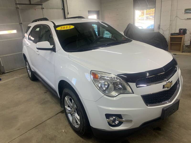 2012 Chevrolet Equinox for sale at QUINN'S AUTOMOTIVE in Leominster MA