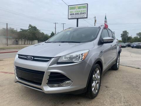 2014 Ford Escape for sale at Shock Motors in Garland TX