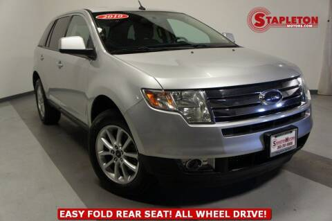 2010 Ford Edge for sale at STAPLETON MOTORS in Commerce City CO
