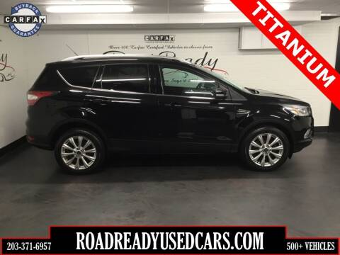 2017 Ford Escape for sale at Road Ready Used Cars in Ansonia CT