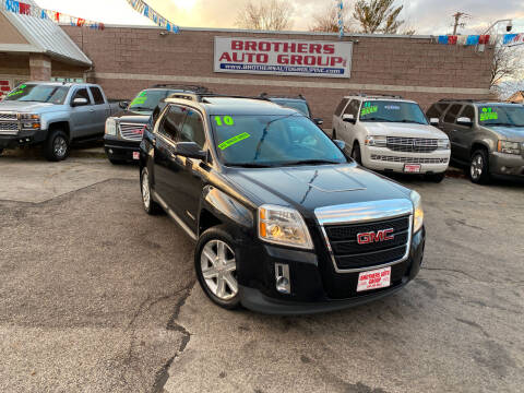 2010 GMC Terrain for sale at Brothers Auto Group in Youngstown OH