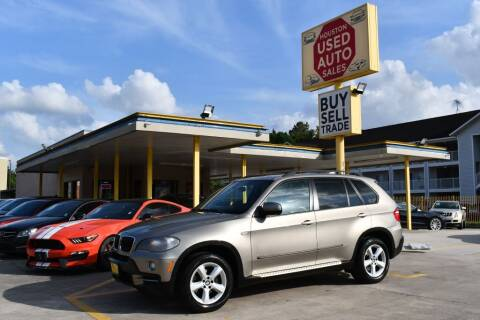 2008 BMW X5 for sale at Houston Used Auto Sales in Houston TX