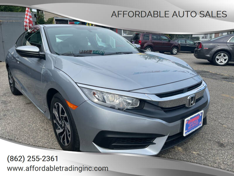 2018 Honda Civic for sale at Affordable Auto Sales in Irvington NJ