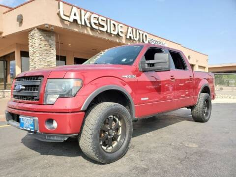 2013 Ford F-150 for sale at Lakeside Auto Brokers in Colorado Springs CO