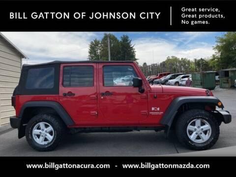 2007 Jeep Wrangler Unlimited for sale at Bill Gatton Used Cars - BILL GATTON ACURA MAZDA in Johnson City TN