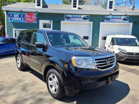 2013 Honda Pilot for sale at Bridge Auto Group Corp in Salem MA