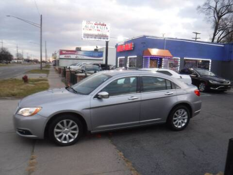 2013 Chrysler 200 for sale at City Motors Auto Sale LLC in Redford MI