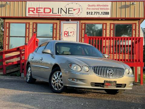 2008 Buick LaCrosse for sale at REDLINE AUTO SALES LLC in Cedar Creek TX