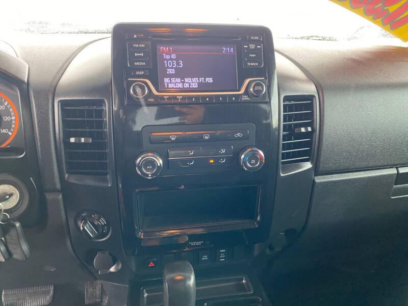 2015 Nissan Titan 4x4 SV 4dr Crew Cab SWB Pickup - Idaho Falls ID