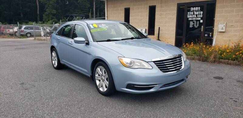 2014 Chrysler 200 for sale at 220 Auto Sales LLC in Madison NC