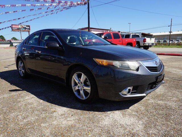 2012 Acura TSX for sale at BLUE RIBBON MOTORS in Baton Rouge LA
