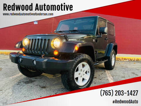 2011 Jeep Wrangler for sale at Redwood Automotive in Anderson IN