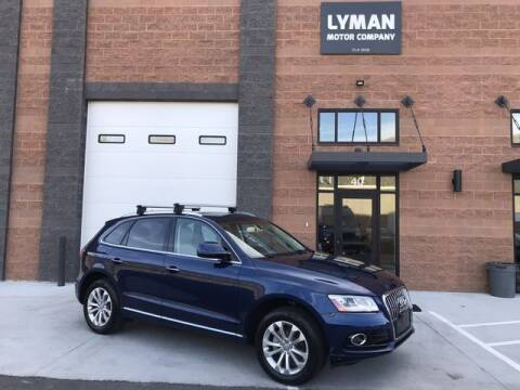 2015 Audi Q5 for sale at Lyman Motor Company in Centerville UT