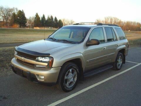 2004 Chevrolet TrailBlazer for sale at Dales Auto Sales in Hutchinson MN