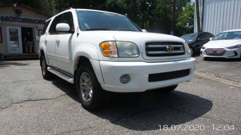 2003 Toyota Sequoia for sale at E-Motorworks in Roswell GA