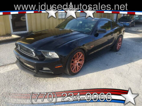 2014 Ford Mustang for sale at J D USED AUTO SALES INC in Doraville GA