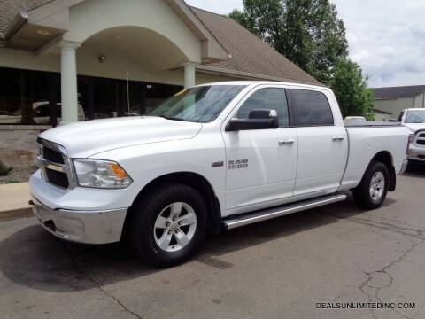 2017 RAM Ram Pickup 1500 for sale at DEALS UNLIMITED INC in Portage MI