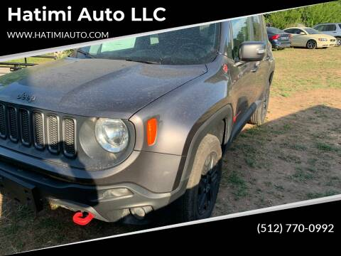 2018 Jeep Renegade for sale at Hatimi Auto LLC in Austin TX