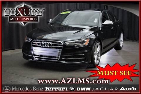 2014 Audi S6 for sale at Luxury Motorsports in Phoenix AZ