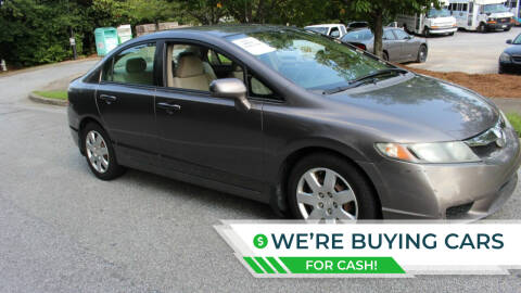 2009 Honda Civic for sale at NORCROSS MOTORSPORTS in Norcross GA