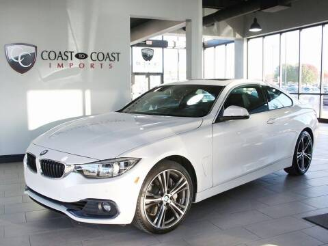 2018 BMW 4 Series for sale at Coast to Coast Imports in Fishers IN