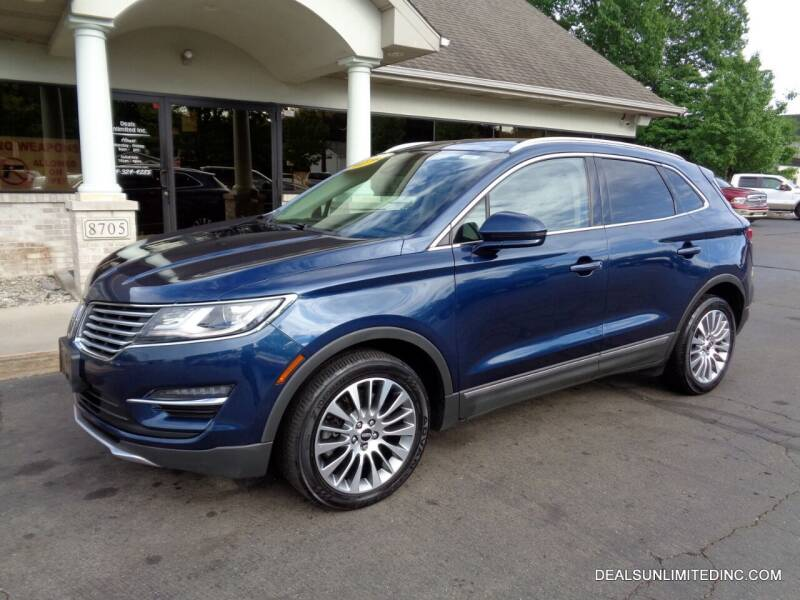 2017 Lincoln MKC for sale at DEALS UNLIMITED INC in Portage MI