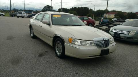 1999 Lincoln Town Car for sale at Kelly & Kelly Supermarket of Cars in Fayetteville NC