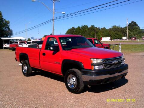 2006 Chevrolet Silverado 2500HD for sale at Tom Boyd Motors in Texarkana TX