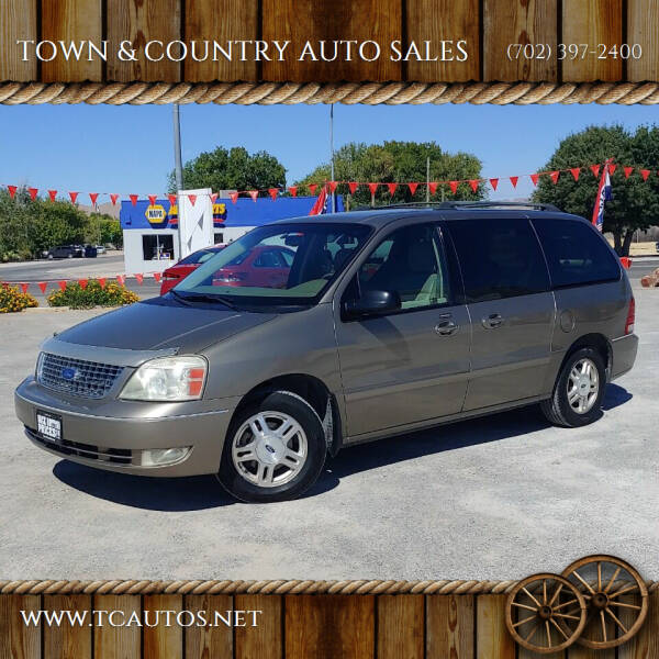 2006 Ford Freestar for sale at TOWN & COUNTRY AUTO SALES in Overton NV