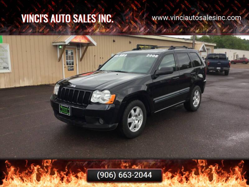 2008 Jeep Grand Cherokee for sale at Vinci's Auto Sales Inc. in Bessemer MI