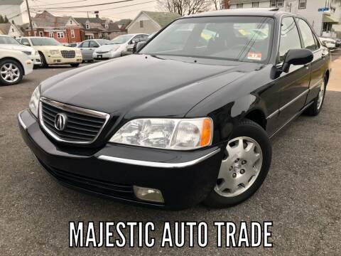 2004 Acura RL for sale at Majestic Auto Trade in Easton PA