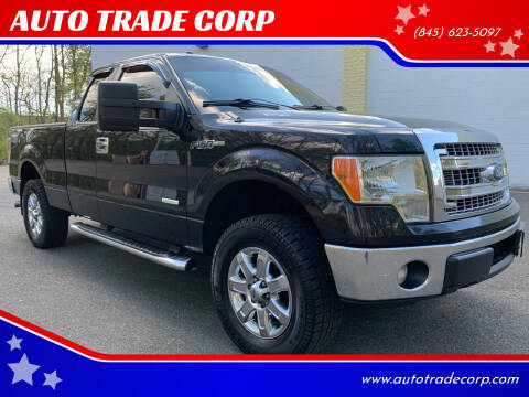 2013 Ford F-150 for sale at AUTO TRADE CORP in Nanuet NY