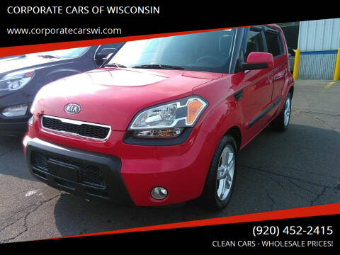 2010 Kia Soul for sale at CORPORATE CARS OF WISCONSIN - DAVES AUTO SALES OF SHEBOYGAN in Sheboygan WI