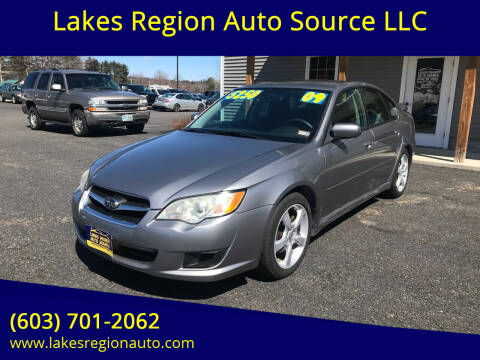 2009 Subaru Legacy for sale at Lakes Region Auto Source LLC in New Durham NH