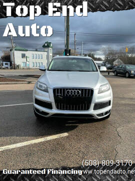2012 Audi Q7 for sale at Top End Auto in North Atteboro MA