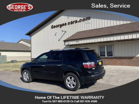 2010 GMC Acadia for sale at GEORGE'S CARS.COM INC in Waseca MN