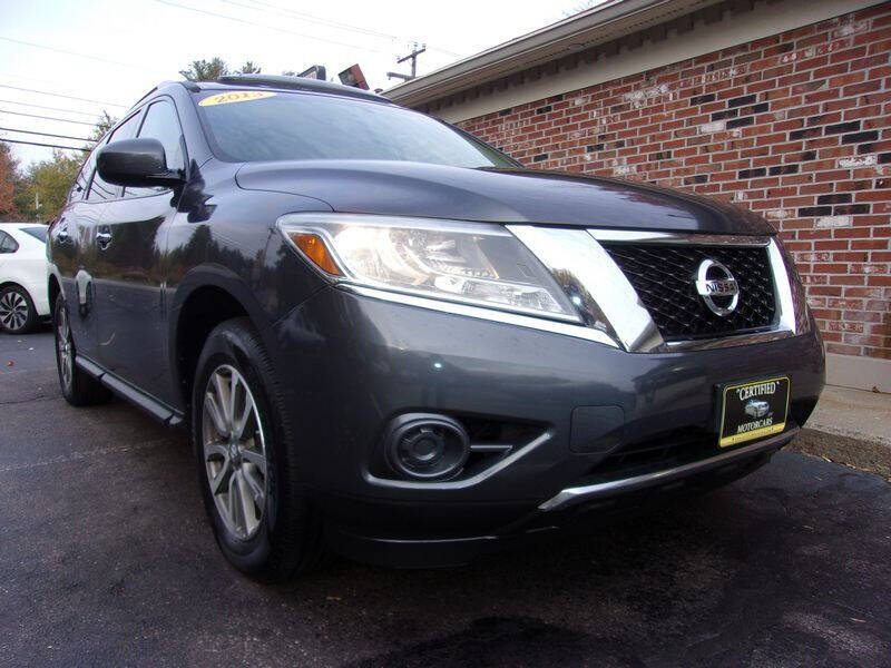 2013 Nissan Pathfinder for sale at Certified Motorcars LLC in Franklin NH
