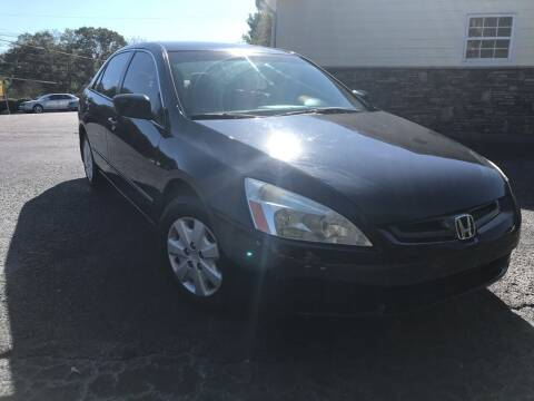 2003 Honda Accord for sale at No Full Coverage Auto Sales in Austell GA