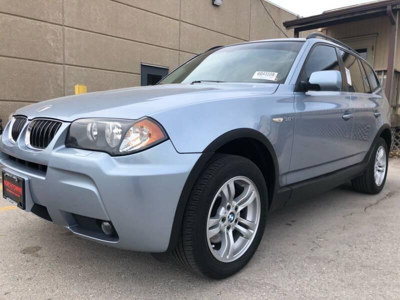 2006 BMW X3 for sale at MGM Motors LLC in De Soto KS