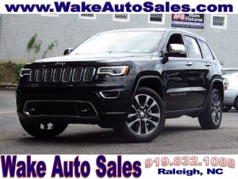 2018 Jeep Grand Cherokee for sale at Wake Auto Sales Inc in Raleigh NC