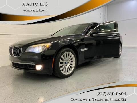 2012 BMW 7 Series for sale at X Auto LLC in Pinellas Park FL