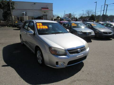 2009 Kia Spectra for sale at Auto Bella Inc. in Clayton NC