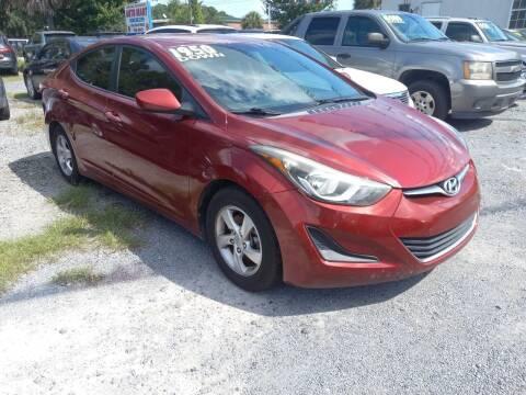 2014 Hyundai Elantra for sale at Auto Mart - Dorchester in North Charleston SC