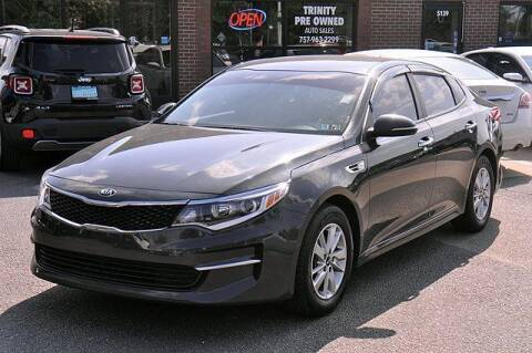 2016 Kia Optima for sale at Bankruptcy Car Financing in Norfolk VA