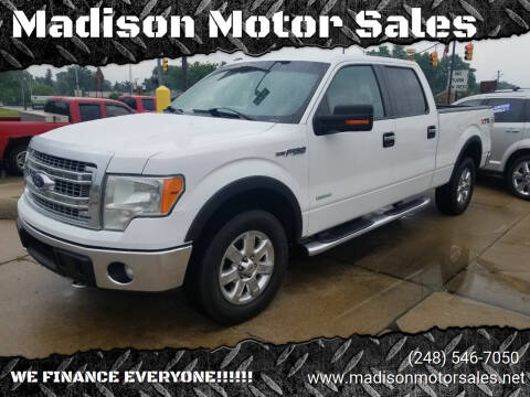 2014 Ford F-150 for sale at Madison Motor Sales in Madison Heights MI