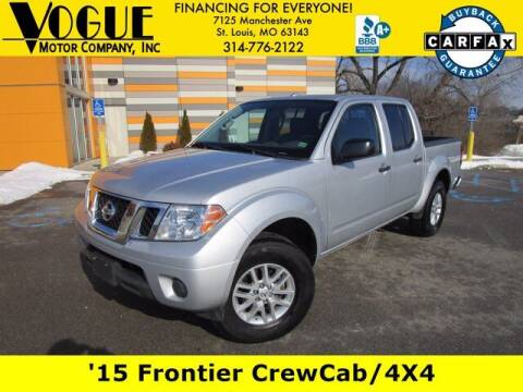 2015 Nissan Frontier for sale at Vogue Motor Company Inc in Saint Louis MO