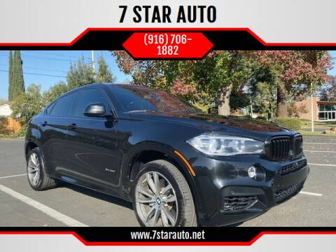 2015 BMW X6 for sale at 7 STAR AUTO in Sacramento CA