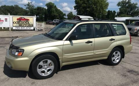 2003 Subaru Forester for sale at Cordova Motors in Lawrence KS