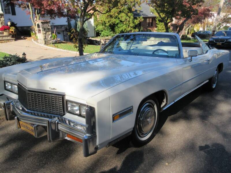 1976 Cadillac Eldorado for sale at Island Classics & Customs in Staten Island NY